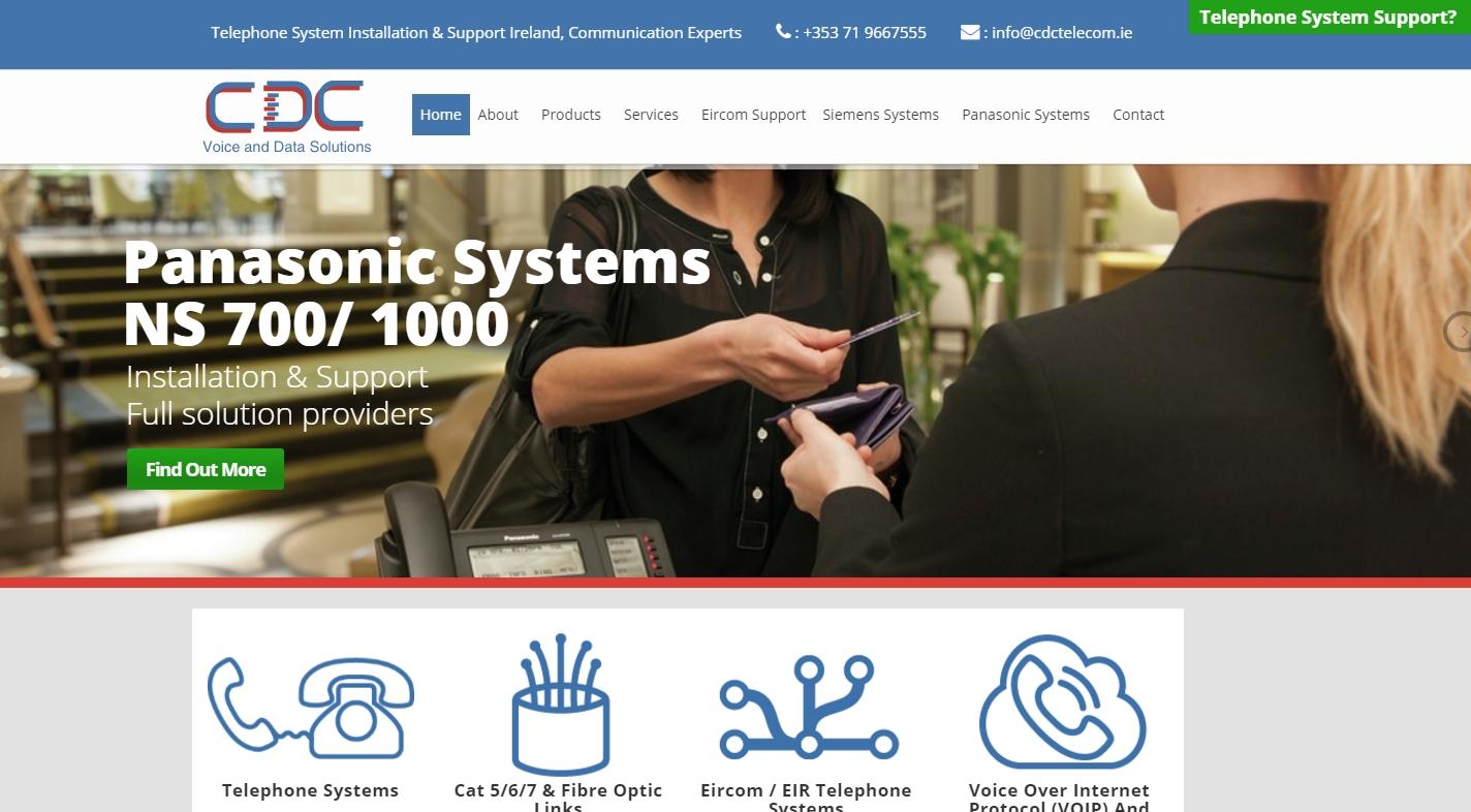 CDC Telecom – CDC Voice & Data Solutions