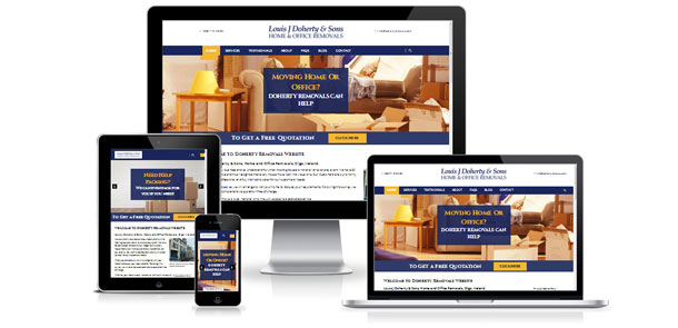 Launch of new responsive site for Doherty Removals