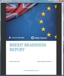 Get Brexit Ready PDF report cover