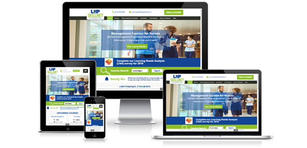 LHP Skillnet Responsive Website and Web App