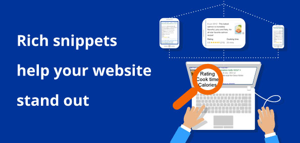 Rich snippets help your website stand out