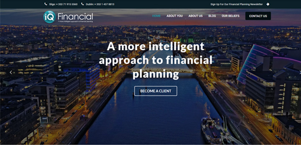 iQ Financial Redesign