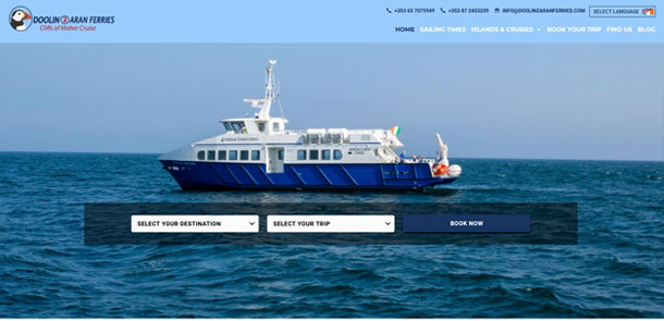 Doolin2Aran Ferries Redesign