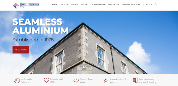 Seamless Aluminium UK and Ireland