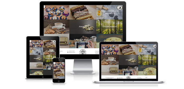 New Responsive Website for Sam's Cookies