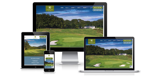 New website for Powerscourt Golf Club