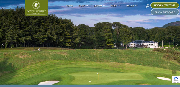 Powerscourt Golf Club Redesign