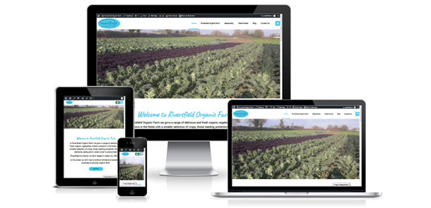 New website for Riversfield Organic Farm