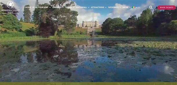 Powerscourt Estate & Gardens Redesign
