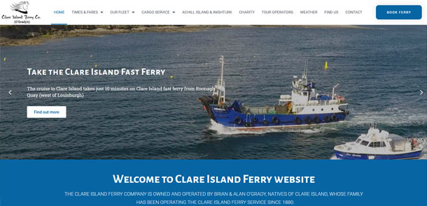 Clare Island Ferry Redesign